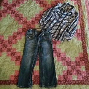 Boys 4T western wear